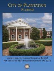 Comprehensive Annual Financial Report (CAFR) - MyFlorida.com