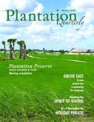 pq winter 2005 pdf web.qxp - City of Plantation