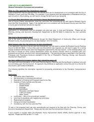 LAND USE PLAN AMENDMENTS General ... - City of Plantation