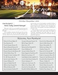 PBCC NL 7-07 - Plantation Bay - Golf & Country Club