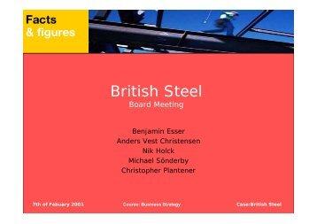British Steel - christopher plantener