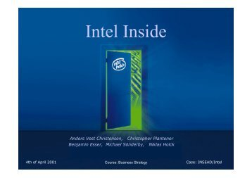 Intel Inside - christopher plantener