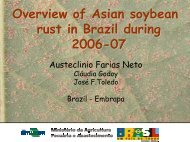 Overview of Soybean Rust in Brazil. - Plant Management Network