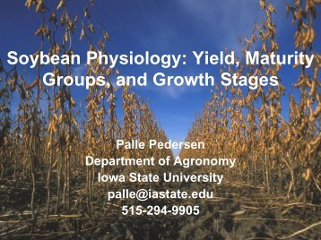 Crop Physiology - Plant Management Network