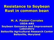 Resistance to Soybean Rust in Dry Beans. - Plant Management ...