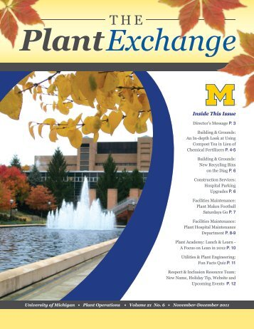 Volume 21 / No. 6 / November-December 2011 - Plant Operations ...