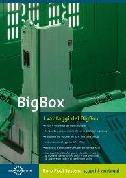 I vantaggi del BigBox - Euro Pool System