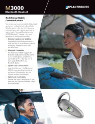 M3000 Bluetooth Headset - Plantronics