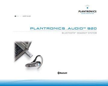 plantronics voyager 510 manual pdf