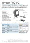 Voyager PRO UC - Plantronics - Page 2