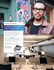 Working Solutions - Plantronics
