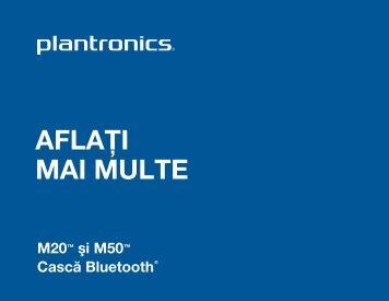 AFLAÅ¢I MAI MULTE - Plantronics