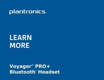 LEARN MORE LEARN MORE - Headset Helpers