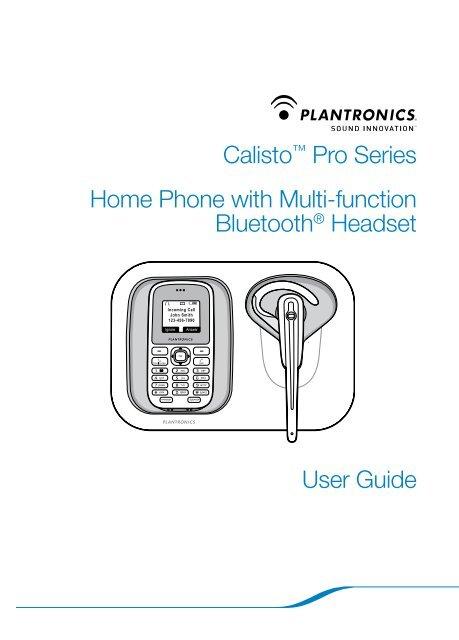 Plantronics Calisto Pro Series - CenturyLink