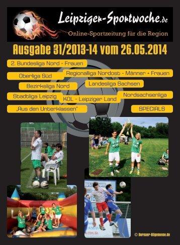 Ausgabe 31/2013-14 vom 26.05.2014