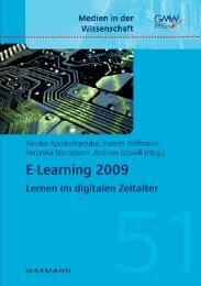 E-Learning 2009 - Waxmann Verlag GmbH