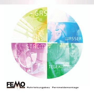 Rohrleitungsbau Fernmeldemontage - FEMO  GmbH