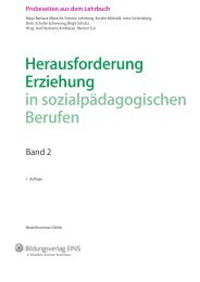 Probeseiten herunterladen - Bildungsverlag EINS