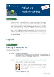 Programm Download (PDF) - Planung & Analyse