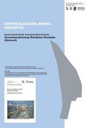 Zusammenfassung Richtplan Dreispitz - Planungsamt - Basel-Stadt