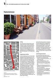 Projektblatt - Planungsamt - Kanton Basel-Stadt