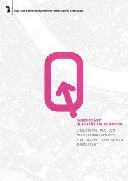 Ergebnisse aus dem Mitwirkungsprozess - Planungsamt - Basel-Stadt