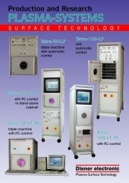 Brochure TETRA - Diener electronic GmbH + Co. KG
