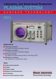 plasma-system pico - Diener electronic GmbH + Co. KG
