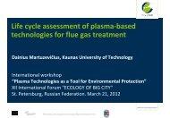 Life cycle analysis - PlasTEP