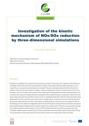 Investigate the NOx/SOx kinetic mechanism by three ... - PlasTEP