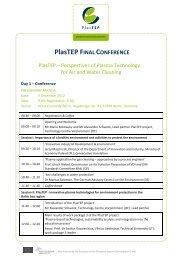 PlasTEP FINAL CONFERENCE