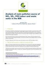 Analysis of main pollution source of NOx , SOx , VOC ... - PlasTEP