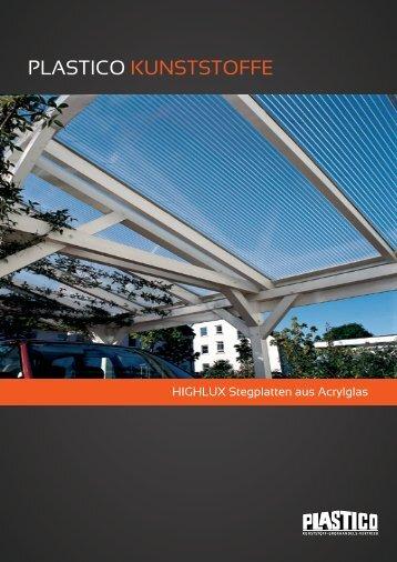 Acrylglas Stegplatten - Plastico Bohner GmbH