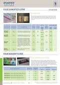 FOLIE SAMOPRZYLEPNE - Plastics Group - Page 3
