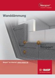 Neopor Broschüre – Wanddämmung - BASF Plastics Portal