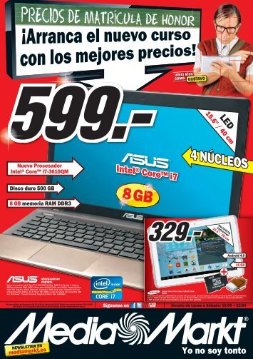 el folleto de Media Markt