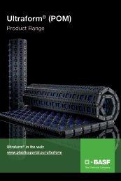 Ultraform range chart - BASF Plastics Portal
