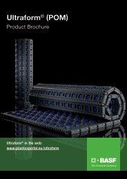 Ultraform® (POM) – Product Brochure - BASF Plastics Portal