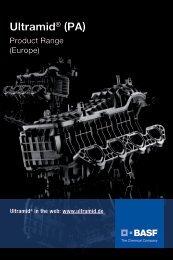 Ultramid (PA) - Product Range (Europe) - BASF Packaging Portal
