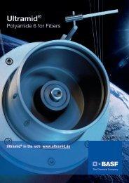 Ultramid Polyamide 6 for Fibers - Brochure - BASF Plastics Portal