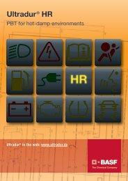Ultradur HR - Brochure - BASF Plastics Portal