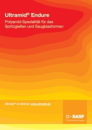 Ultramid® Endure - Broschüre - BASF Plastics Portal