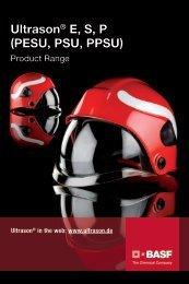 Ultrason range chart - Brochure - BASF Plastics Portal