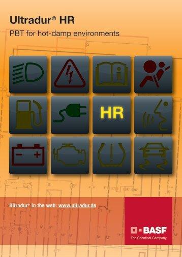 Ultradur HR - Brochure - BASF PlasticsPortal