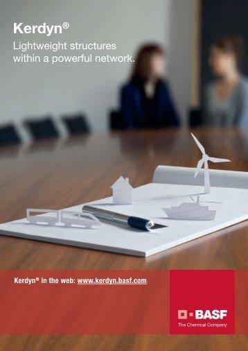 Kerdyn® Brochure - BASF PlasticsPortal