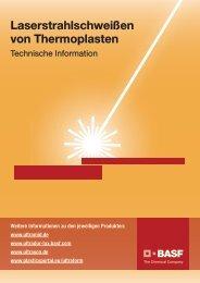Laserstrahlschweißen von Thermoplasten - BASF Plastics Portal