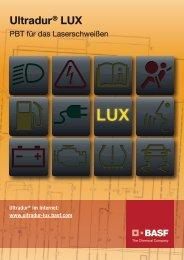Ultradur® LUX – PBT für das Laserschweißen - BASF Plastics Portal