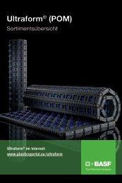 Ultraform Sortimentsübersicht - BASF Plastics Portal