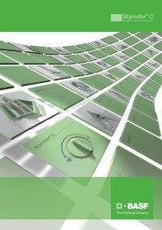 Styrodur C Brochure - BASF Plastics Portal