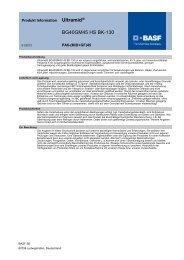 Ultramid® BG40GM45 HS BK-130 - BASF Plastics Portal